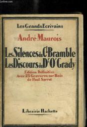 Les Silences Du Cl Bramble - Les Discours Du Dr O Grady- 25 Gravures Sur Bois De Paul Sarrut - Couverture - Format classique
