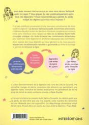 La magie de la digestion ; le secret des combinaisons alimentaires pour retrouver l'équilibre - 4ème de couverture - Format classique