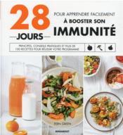 28 jours pour apprendre facilement à booster son immunité - Couverture - Format classique