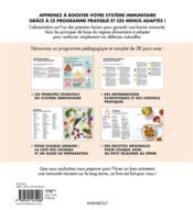 28 jours pour apprendre facilement à booster son immunité - 4ème de couverture - Format classique