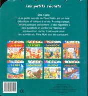 Les petits secrets du Père Noël - 4ème de couverture - Format classique