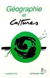 Geographie Et Cultures 5 - Couverture - Format classique