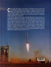 Les débuts de la recherche spatiale française - 4ème de couverture - Format classique