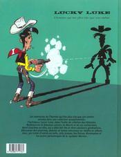 Lucky Luke ; intégrale t.13 - 4ème de couverture - Format classique