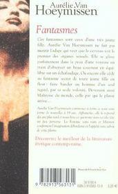 Fantasmes - 4ème de couverture - Format classique