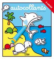 telecharger Autocollants a colorier : le dauphin livre PDF en ligne gratuit