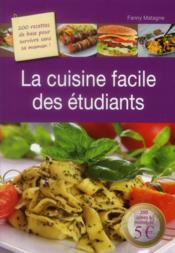La cuisine des étudiants - Couverture - Format classique
