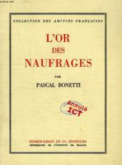 L'Or Des Naufrages - Couverture - Format classique