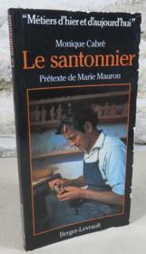 Le santonnier. - Couverture - Format classique