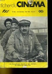 Fihe Du Cinema N°600 - 1ere Quinzaine - Couverture - Format classique