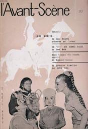 L'AVANT-SCENE - FEMINA-THEATRE N° 177 - LADY GODIVA de JEAN CANOLLE présentée par l'auteur - Couverture - Format classique