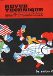 Revue Technique Automobile - Couverture - Format classique