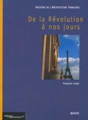Histoire de l'architecture française t.3 ; de la Révolution à nos jours - Couverture - Format classique