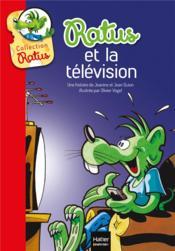 Ratus et la télévision - Couverture - Format classique