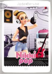 Nikki Pop t.2 ; le premier contrat - Couverture - Format classique