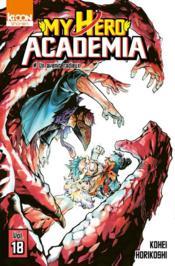 My hero Academia T.18 ; un avenir radieux - Couverture - Format classique
