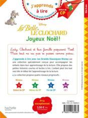 La Belle et le Clochard ; joyeux Noël ! - 4ème de couverture - Format classique