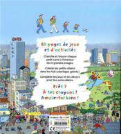 Le grand cahier d'activités de la famille Oukilé autour du monde - 4ème de couverture - Format classique