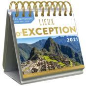Le grand almaniak lieux d'exception (édition 2021) - Couverture - Format classique