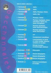Bacchannales ; Comptabilité Et Finance Des Entreprises ; Terminale Stg ; Sujets Du Bac Corrigés Et Commentés Et Résumé De Cours (Bac 2007) - 4ème de couverture - Format classique