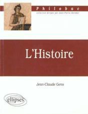 L'histoire - Couverture - Format classique