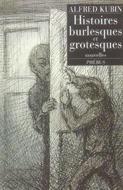 Histoires Burlesques Et Grotesques - Intérieur - Format classique