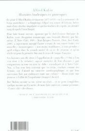 Histoires Burlesques Et Grotesques - 4ème de couverture - Format classique