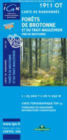 Forêt de Brotonne ; Rouen ; 1911 OT - Couverture - Format classique