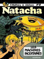 Natacha t.9 ; les machines incertaines - Intérieur - Format classique