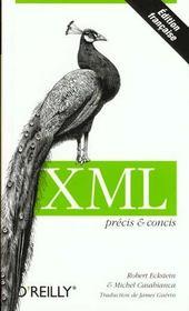 Xml Precis Et Concis - Intérieur - Format classique