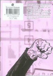 Zetman t.6 - 4ème de couverture - Format classique