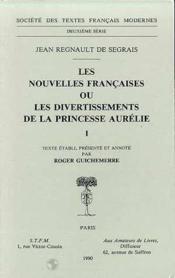 Les nouvelles francaises ou les divertissements de la princesse aurelie - Couverture - Format classique