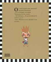Narcissimo - 4ème de couverture - Format classique