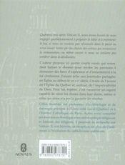 40 ans apres Vatican II ; espèrer ! - 4ème de couverture - Format classique