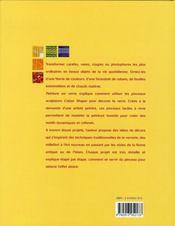 La peinture sur verre - 4ème de couverture - Format classique