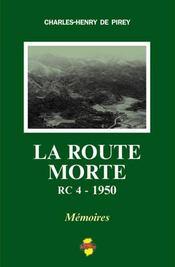 La route morte ; RC4 - 1950 - Intérieur - Format classique