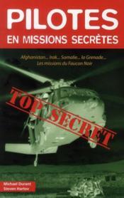 Pilotes en missions secrètes - Couverture - Format classique