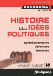 Histoire des idées politiques ; synthèse du cours, définitions, exercices - Couverture - Format classique
