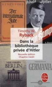 Dans la bibliothèque privée d'Hitler (édition 2010) - Couverture - Format classique