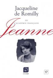 Jeanne - Couverture - Format classique
