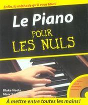 Le piano pour les nuls - Intérieur - Format classique