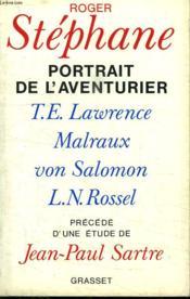 Portrait de l'aventurier - Couverture - Format classique