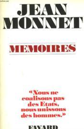 Memoires. - Couverture - Format classique
