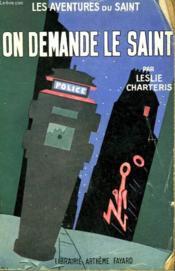 On Demande Le Saint. Les Aventures Du Saint N°23. - Couverture - Format classique