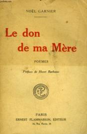 Le Don De Ma Mere. - Couverture - Format classique