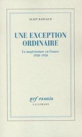 Une Exception Ordinaire - Intérieur - Format classique