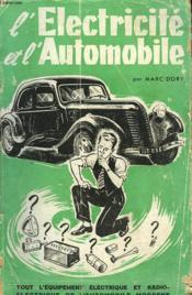 L'Electricite Et L'Automobile - Couverture - Format classique