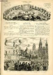 L'UNIVERS ILLUSTRE - HUITIEME ANNEE N° 460 Inauguration à Rouen, le 15 Août, de la statue de Napoléon Ier. - Couverture - Format classique