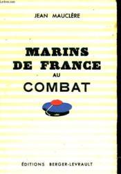 Marins De France Au Combat - Couverture - Format classique