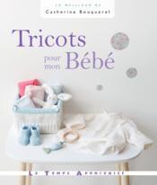 Tricots pour mon bébé - Couverture - Format classique
